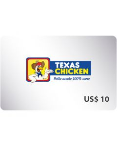 Certificado Texas Chicken $10