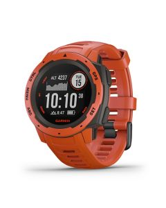 Instinct (Flame Red) Rojo En Garmin