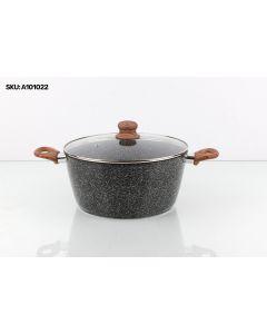 Olla Cottura Palermo 20 cm - Negro
