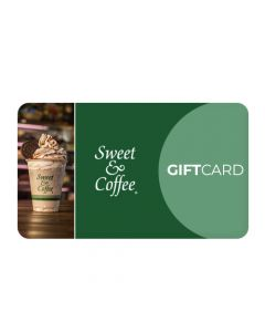Gift Card USD 20 en Sweet and Coffee