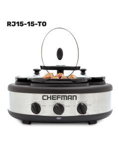 Olla Lenta Triple Chefman 1.5 L por olla