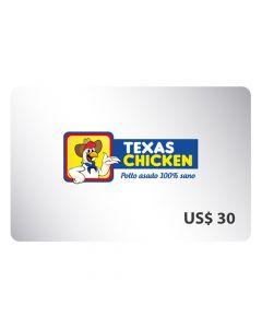Certificado Texas Chicken