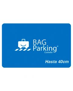 Certificado Bagparking Maleta Pequeña
