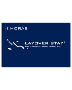 Certificado Sala de Descanso Layover Stay - 4 horas