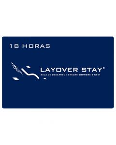 Certificado Sala de Descanso Layover Stay - 18 horas