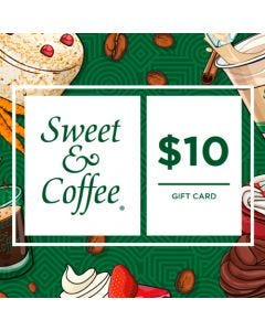Gift Card Sweet & Coffee $10