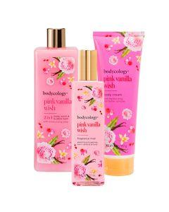 Combo Bodycology Pink Vanilla Wish