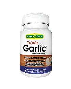 Triple Garlic - 40 cápsulas