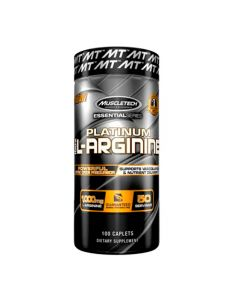 Aminoácidos Platinum 100 cápsulas 100% L-Arginine
