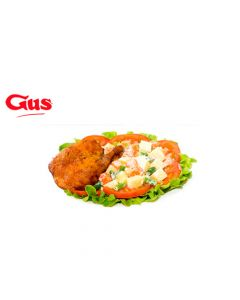 Certificado de Consumo en Pollo Gus - 2 Combos 1/4 Ensalada Rusa