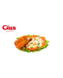 Certificado de Consumo en Pollo Gus - 2 Combos Super 1/4 Ensalada Rusa