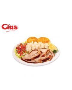 Certificado de Consumo en Pollo Gus - 2 Combos Hornados de Pollo