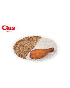 Certificado de Consumo en Pollo Gus - 3 Combos 1/8 Arroz Menestra