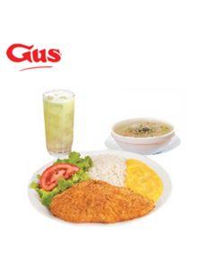 Certificado de Consumo en Pollo Gus - 2 Gus Lunch