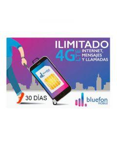 Chip Bluefon Mobile 30 Días