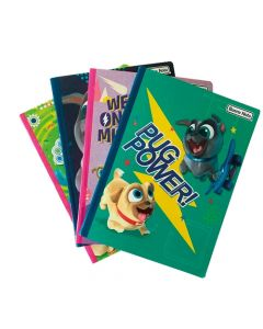 4 Cuadernos 100 Hojas Cosido Puppy Dog Pals