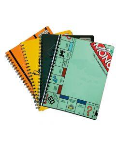 4 Cuadernos 100 Hojas Universitario Monopoly