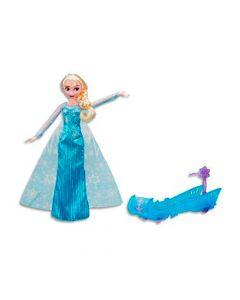 Muñeca Elsa Con Trineo Frozen