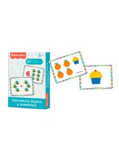 Tarjetas Secuencia Lógicas y Numéricas Fisher-Price