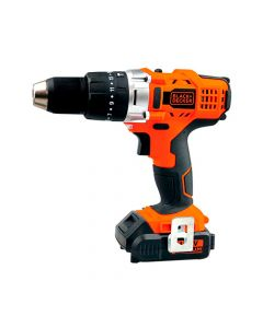 "Taladro Percutor Inalambrico Black&Decker 1/2"" (13Mm) 14V"