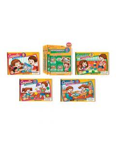Kits Librería Coquito de reforzamiento en casa para niños de 3 años