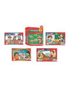 Kits Librería Coquito de reforzamiento en casa para niños de 4 años