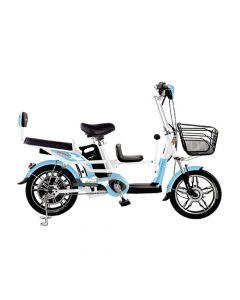 Bicicleta Eléctrica Mtm Pro Bike Celeste