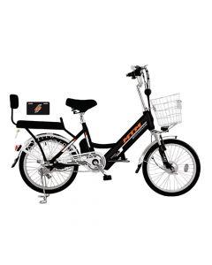 Bicicleta Eléctrica Mtm Pro Bike Negra