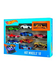 Set de 10 carros Hot Wheels