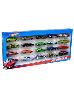 Set de 20 carros Hot Wheels
